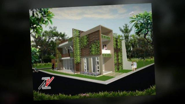 desain rumah modern jakarta bogor by