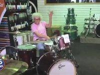 Drumming Grandma