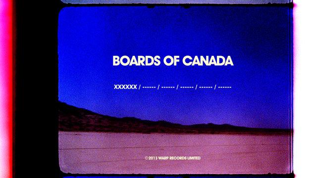 Boards of Canada - Cosecha Signal One