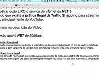 NET LIXO pratica Traffic Shaping!