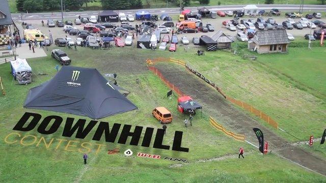 Downhill Contest'13 • Zawoja Mosorny Groń Highlights