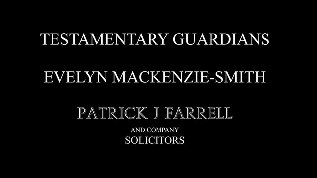 Testamentary Guardians