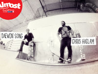 Daewon Song and Chris Haslam messing around with the GoPro Hero 3 and Waltz!