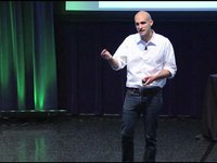 "Nir Eyal at the Founder Showcase: ""Hooked: The Psychology Behind How Products Form User Habits"""