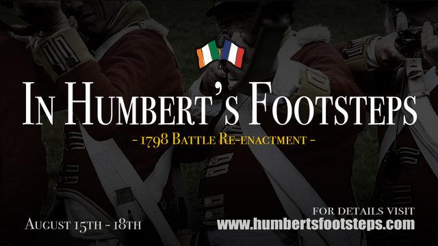 In Humbert's Footsteps - 1798 Battle Re-enactment