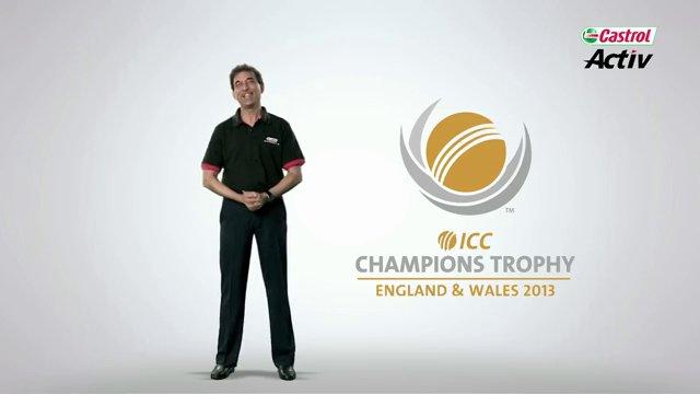 Castrol ICC Champions Trophy Challenge Harsha Bhogle Batting