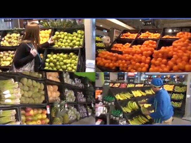 Las caracter�sticas y ventajas comparativas de un supermercado Express de LIDER, mostradas mediante un viaje subjetivo de la c�mara desde su arribo a la salida del establecimiento.