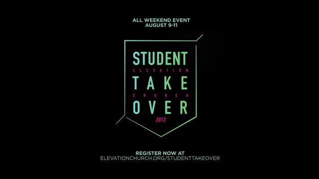 Student Takeover 2013