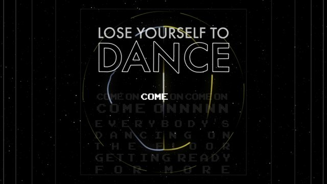 Lose Yourself to Dance - Style RC16955