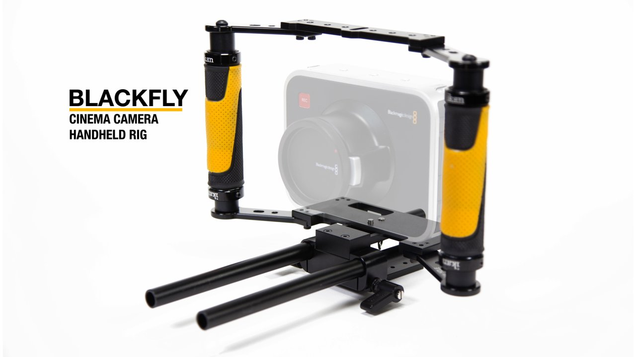 BlackFly Cinema Camera Handheld Rig