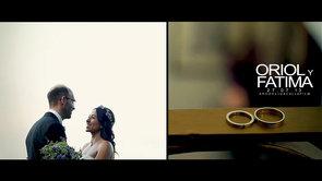 La boda de Fàtima & Oriol