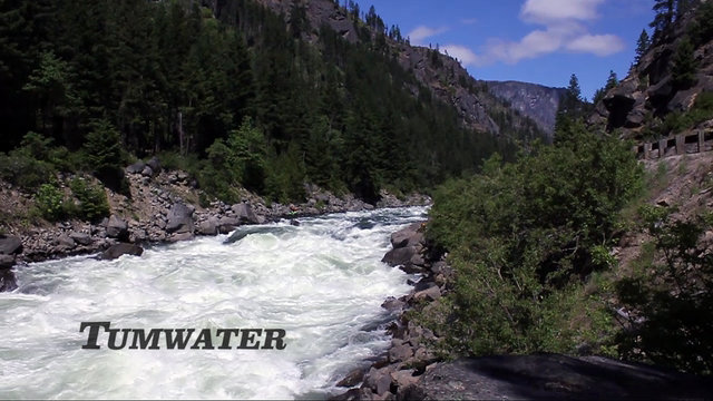 """The Tumwater Canyon""  9000 CFS"