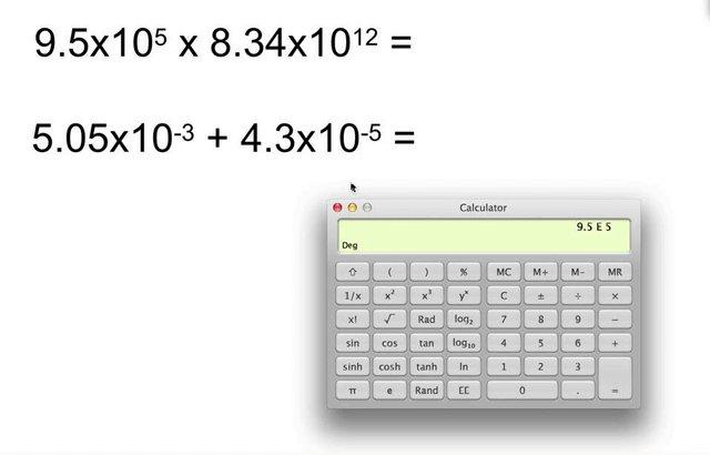 Download Calculate Scientific Notation Calculator