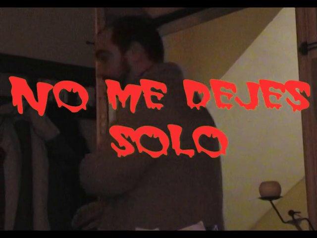 No Me Dejes Solo