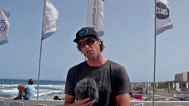 Martin Ten Hoeve - H999 - After 3 days of PWA wave competition in Tenerife