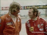 Niki Lauda and James Hunt 1975 & 1977