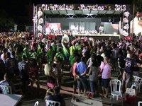 Cucaña - Olimpiadas Rurales 2013