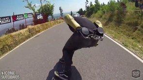 Downhill Skateboard Racing: Kozakov Challenge 2013