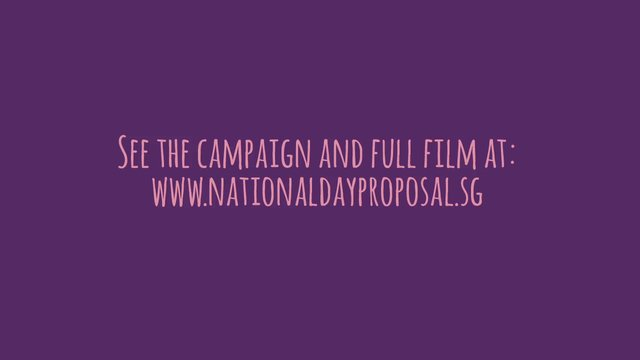Mentos National Day Proposal Clip