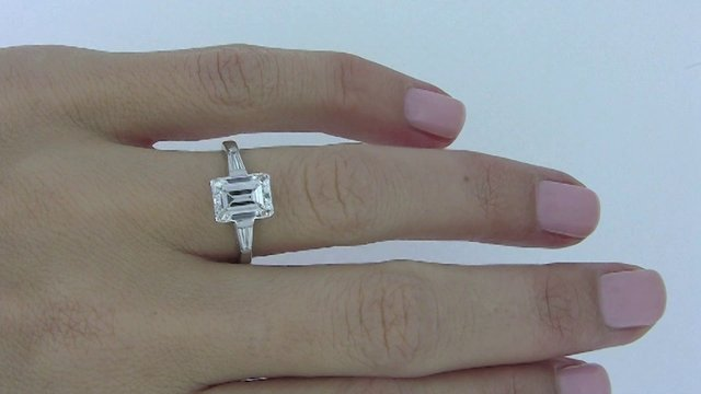 Ct Solitaire Diamond Engagement Rings