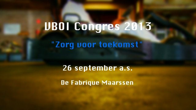 Commercial VBOI congres 2013