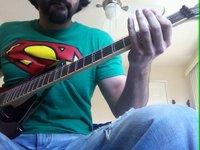 Pakistan's National Anthem on Electric Guitar