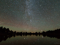 """""""let's Dance"""" (infiction String Remix) By David Bowie - Perseid Meteor Shower 2013"""