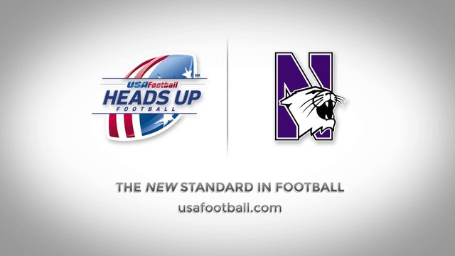 USA Football // Big 10 PSA / Northwestern