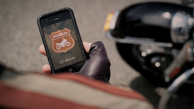 "Allstate ""Good Ride"" app"