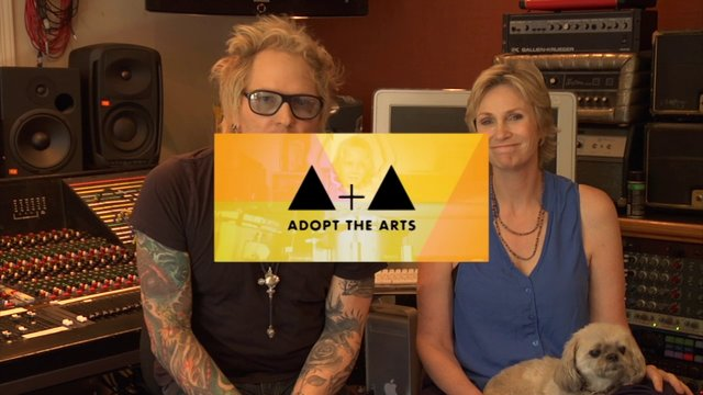 Adopt The Art Campaign Pitch With Jane Lynch and Matt Sorum