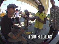 San Francisco Skate Club Hangs out with Joel Jutagir, Daniel DuBois and Mark Rubino