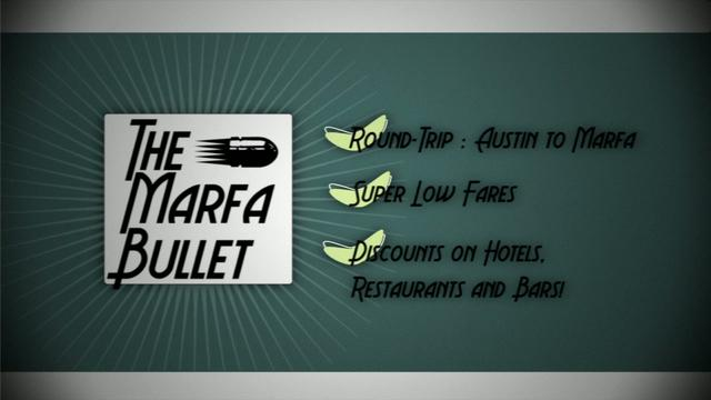The Marfa Bullet