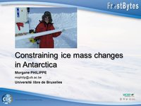 Frostbyte M Philippe: Constraining ice mass changes in Antarctica