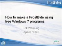 How to make a frostbyte, by E Warming
