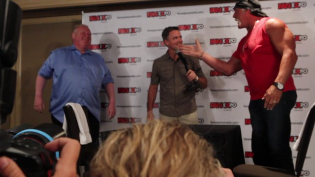 Toronto Mayor Rob Ford Vs Hulk Hogan On Vimeo