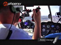 Phoenix Brushless Gimbal - Helicopter Test