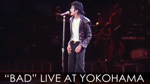 "Michael Jackson - ""BAD"" live Bad Tour in Yokohama 1987 - Digitally Enhanced - HD"