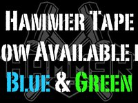 Hammer Tape In Blue & Green