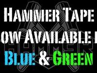 Hammer Tape In Blue & Green