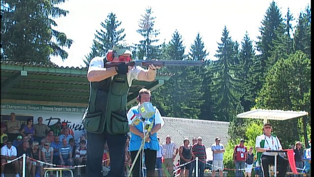 European Championship 2013 Shotgun Suhl (GER) Trap Men
