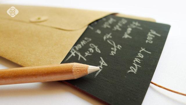 Open-ended Love Letter from Baum-kuchen