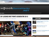 League Of Legends Riot Points Generator 2013