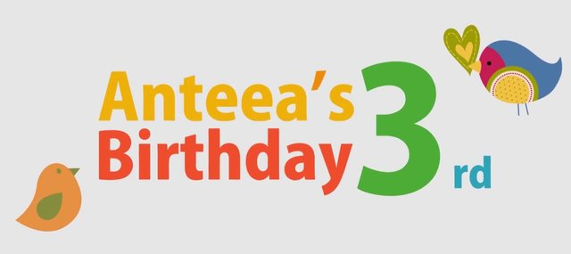 Anteea's 3rd Birthday
