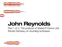 John Reynolds - Melodyne interview Pt.1