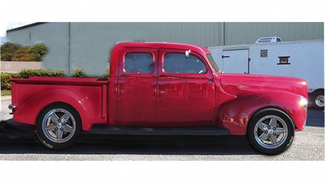 Tim mcclellan 39 s 1940 ford 4 door pickup truck a detailed for 1940 ford 4 door