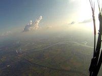 77km xc-flatland-flight; thermal training
