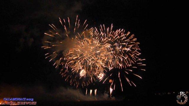 CALAMONACI (Ag) - LA ROSA International Fireworks (2013)