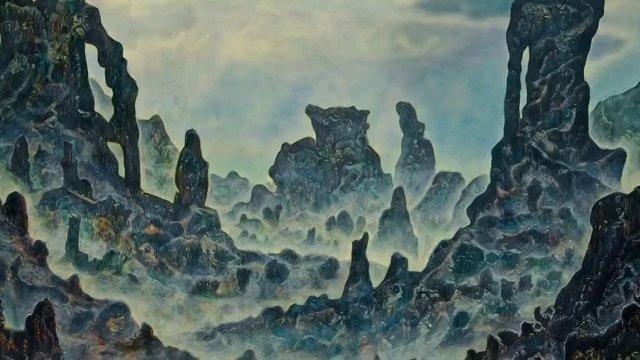 Jean Pronovost visionary painter and sculptor artist