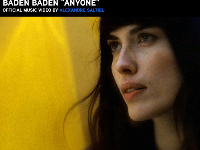 BADEN BADEN - ANYONE - OFFICIAL MUSIC VIDEO (SHORT VERSION)