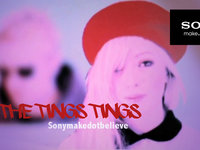 THE TING TINGS - Sony makedotbelieve facebook campaign
